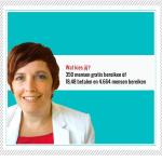 Waarom is het zi350 mensen gratis bereiken òf €18,48 betalen en 4.664 mensen bereiken