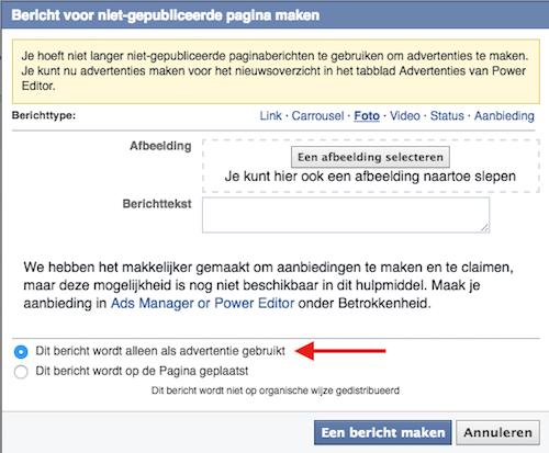 facebook-advertentie-die-niet-op-je-tijdlijn-komt
